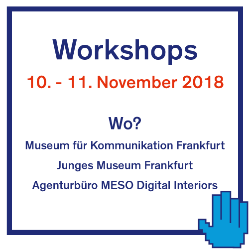 Workshops 10.-11. November 2018